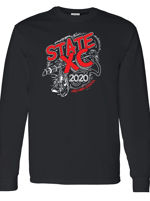 2020 OHS State Cross Country Long Sleeve Shirt