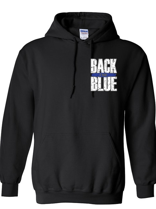 VCSO - Black Hooded Sweatshirt