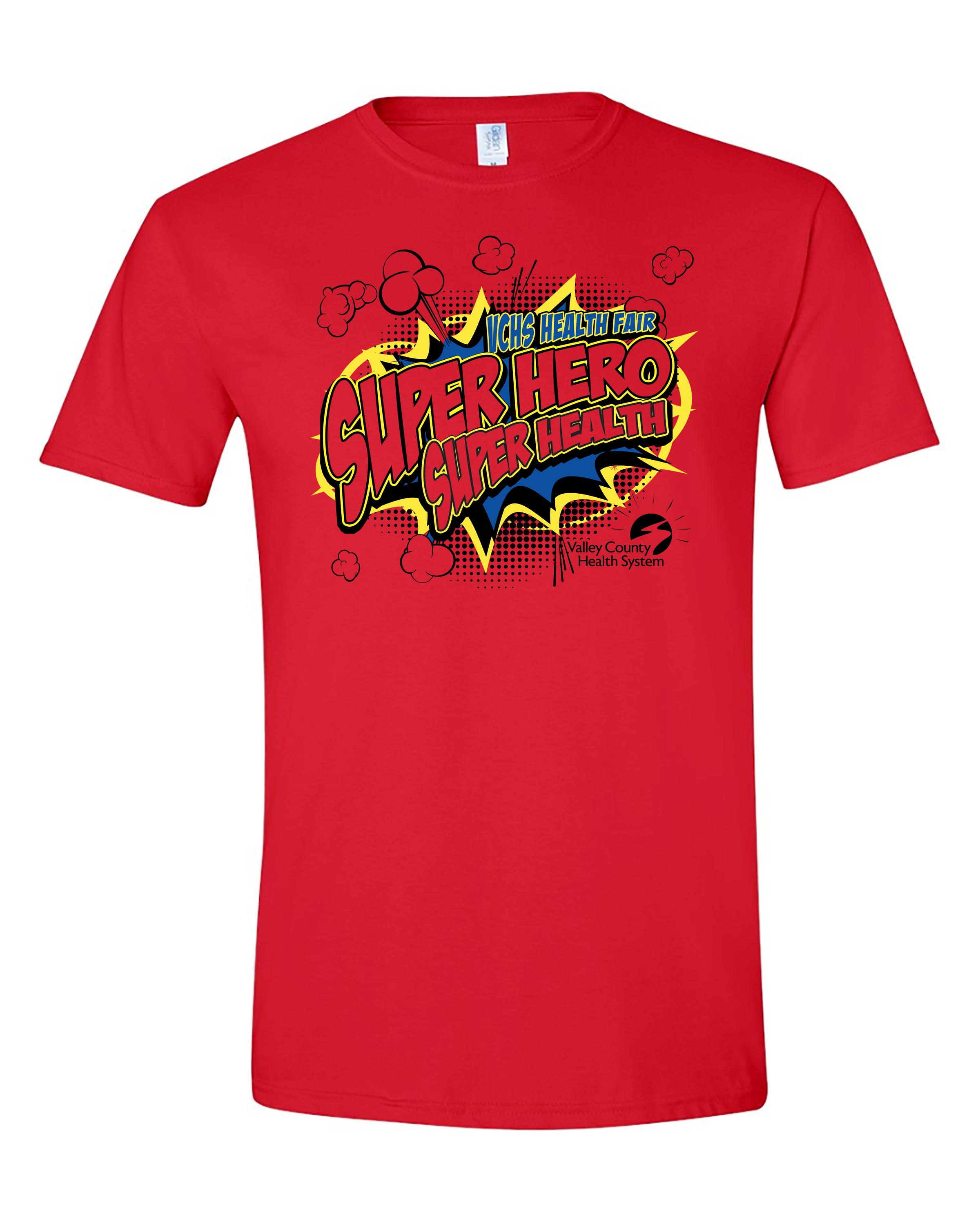 VCHS Health Fair 2 on shirt