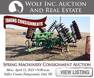 Wolf Real Estate Spring Consignment Auct