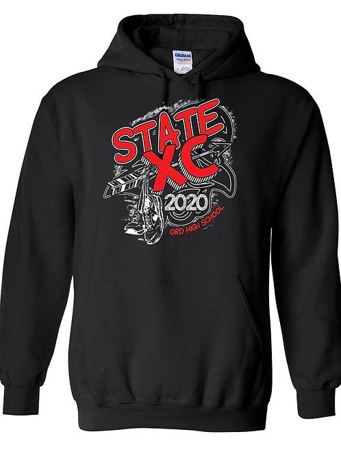 2020 OHS State Cross Country Hoodie Sweatshirt