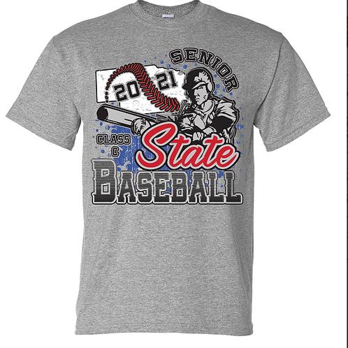 Senior Class C State Baseball - Sport Grey
