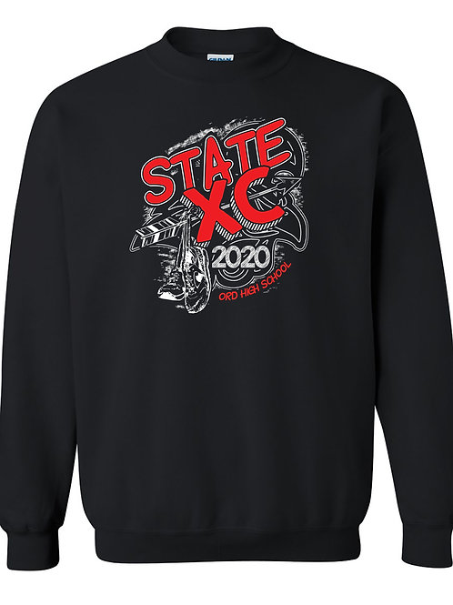 2020 OHS State Cross Country Crew Sweatshirt