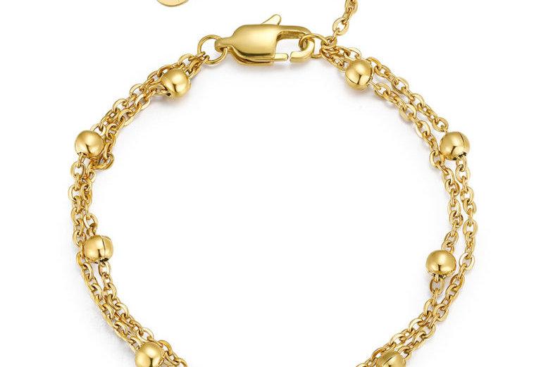 ICRUSH - Harmony Armband gold
