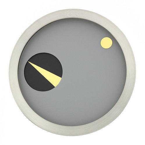 ORBIS - Zeitmesser Grau-Schwarz-Gold