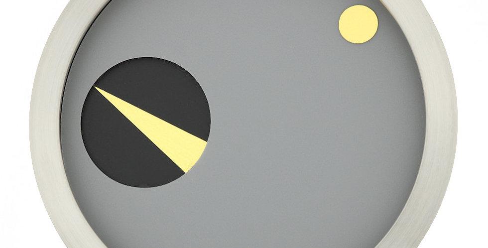 DONKEL - ORBIS Zeitmesser Grau-Schwarz-Gold