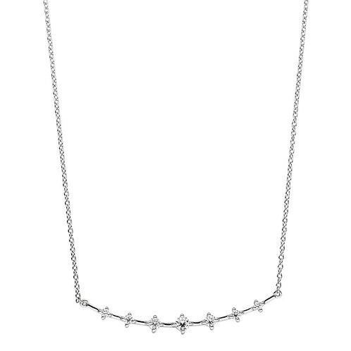 VIVENTY - Halskette mit 7 Zirkonia