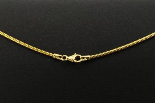 Collierkette 585 - Schlange 50cm