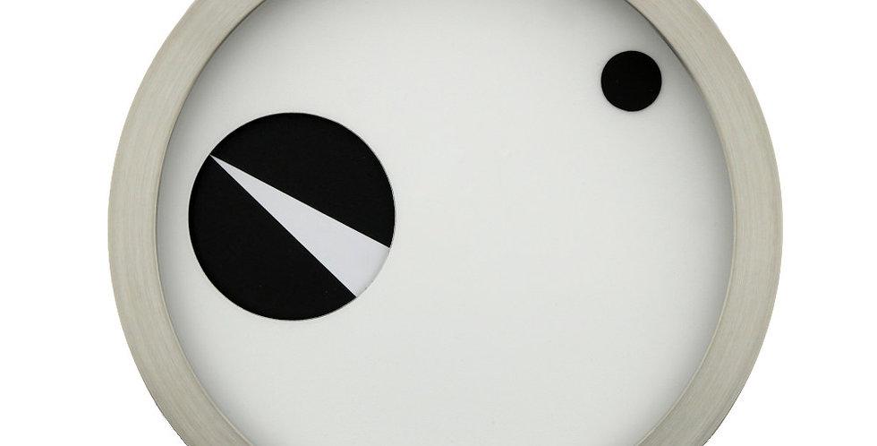 DONKEL - ORBIS Zeitmesser Weiß-Schwarz
