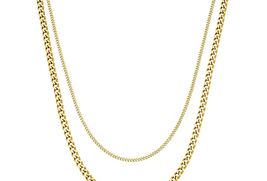 ICRUSH - Double Trouble Kette gold