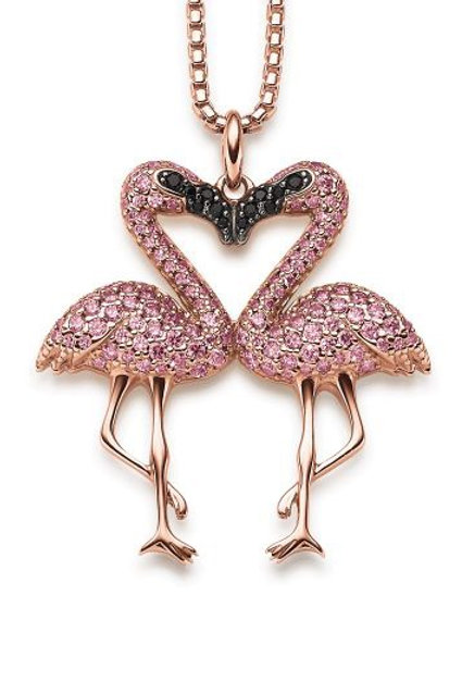 VIVENTY - Halskette Flamingo
