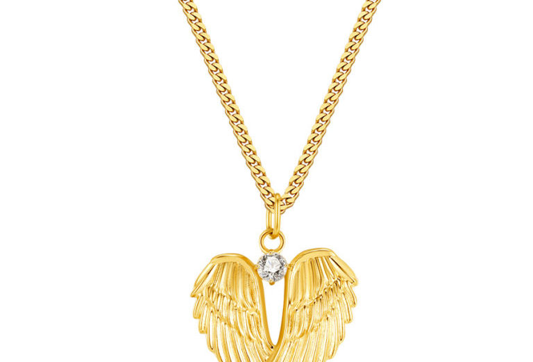 ICRUSH - My wings Kette gold