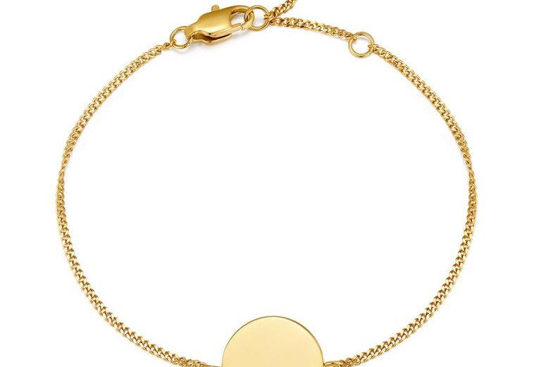 ICRUSH - Simplicity Armband gold