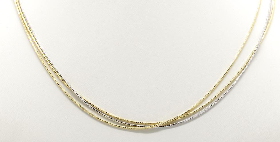 MÜLLER - Halskette 3-reihig