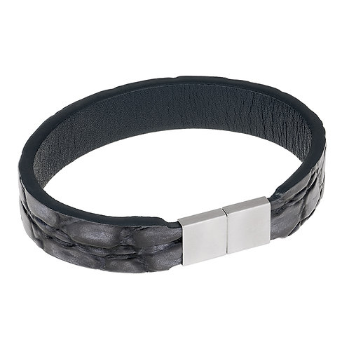 ERNSTES DESIGN - Herrenarmband Leder