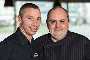 """Chef de Service """"Paco"""" und Eric Rouchon"""