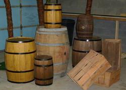 Cask Barrels Kegs Crates