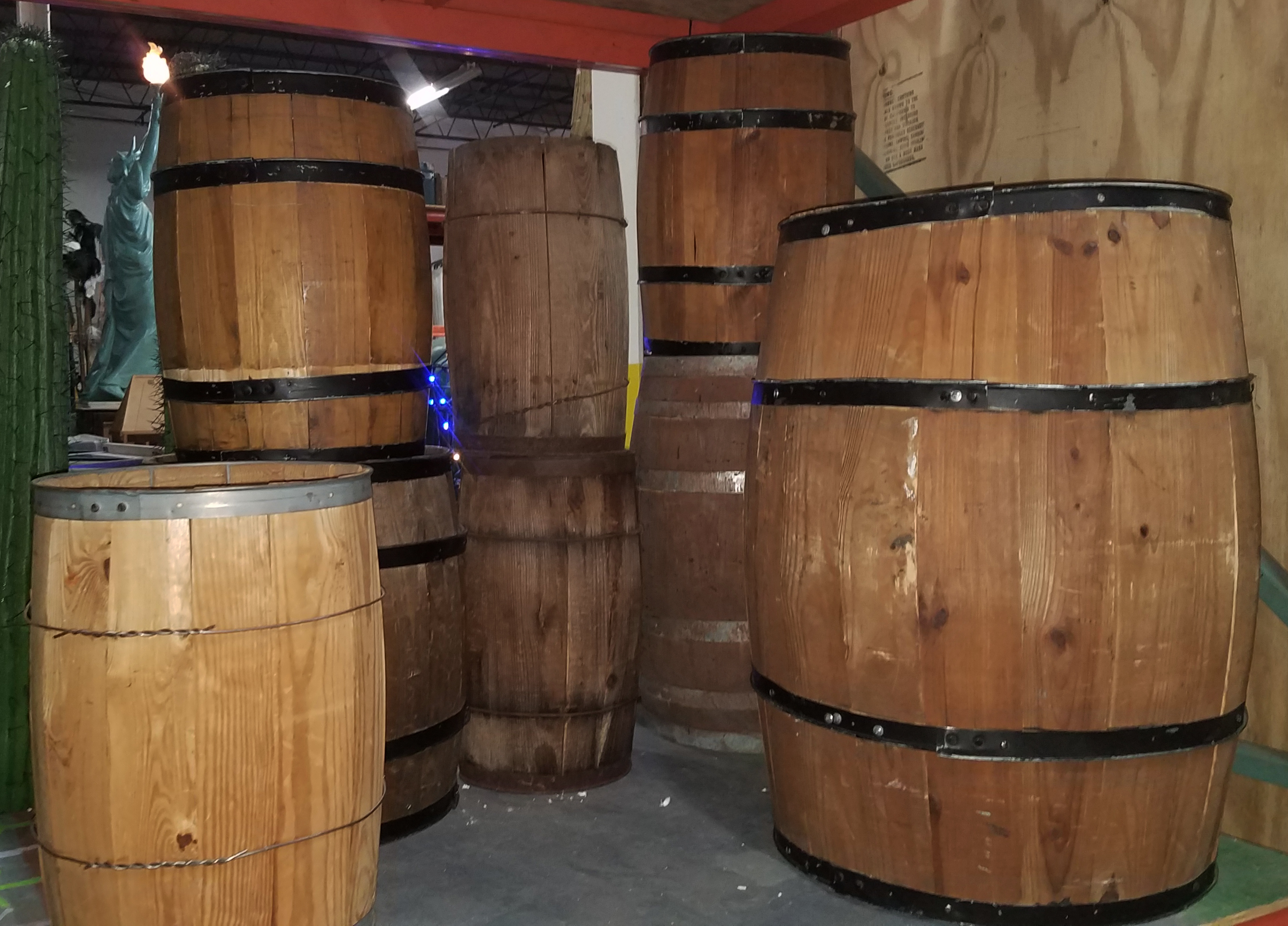 Barrels Kegs Assorted May 2019