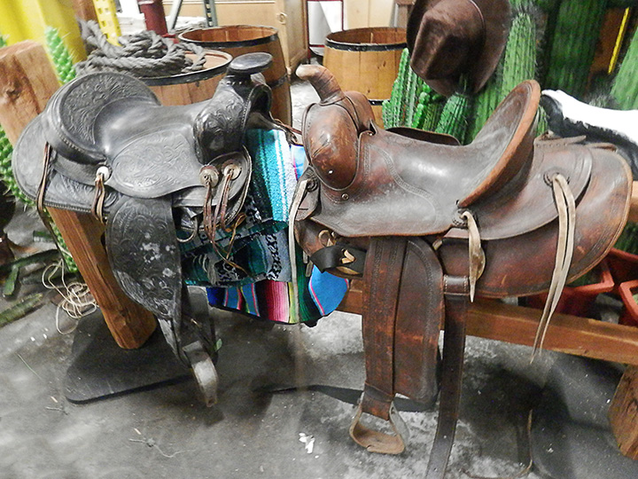 Saddles various