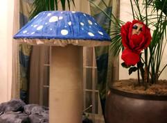 Blue Mushroom 7ft