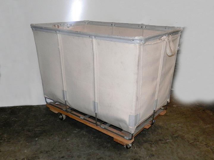 Canvas Laundry Cart