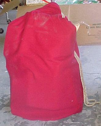 xmas santa bag