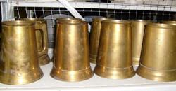 Brass Steins