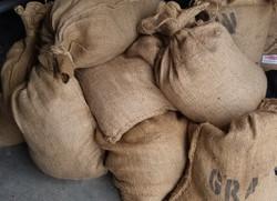 Burlap Store Bags small