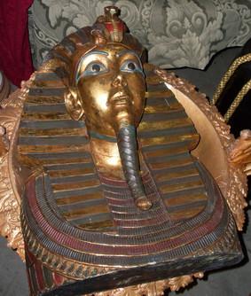 Pharoah Head Bust