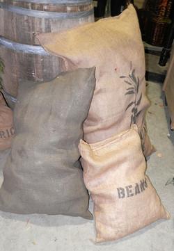 Assorted Burlap Bags