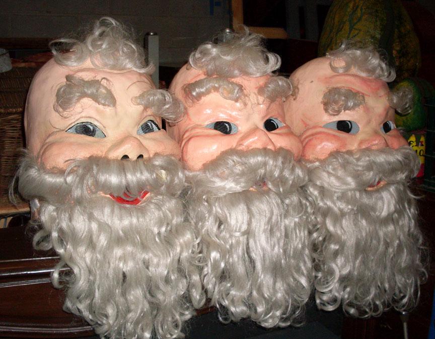 Santa Heads