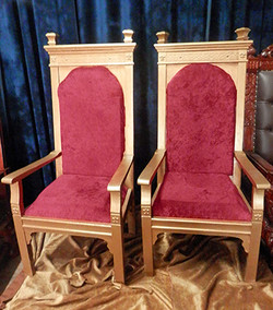 Stately Throne Pair
