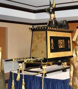 Anubis Seated on Pedestal