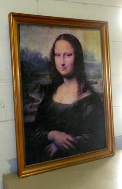 Mona Lisa Framed Portrait