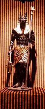 Standing Anubis