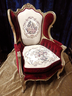 Throne G French Wingback