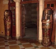 King and Queen Sarcophagus pair