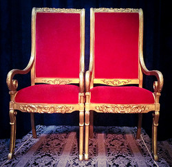 XL Regal Throne Pair