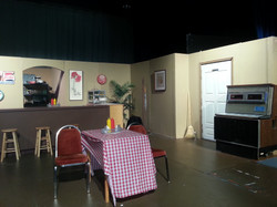 Seeburg Jukebox on set
