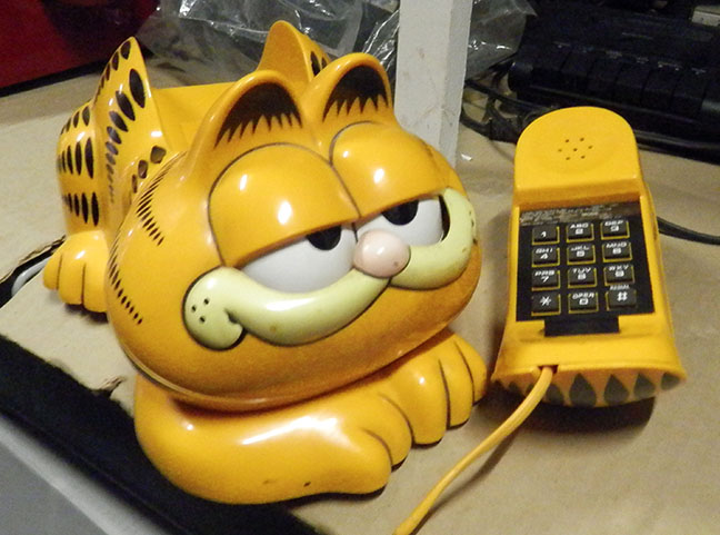 Garfield Dial Telephone