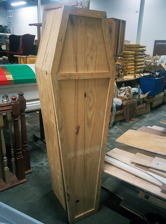 Wood Pinch Coffins