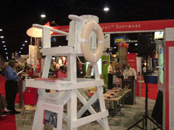 Lifeguard Chair at GWCC_gal