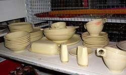 kitchen dinnerware melmac set - 41 piece