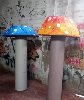 7ft Mushrooms