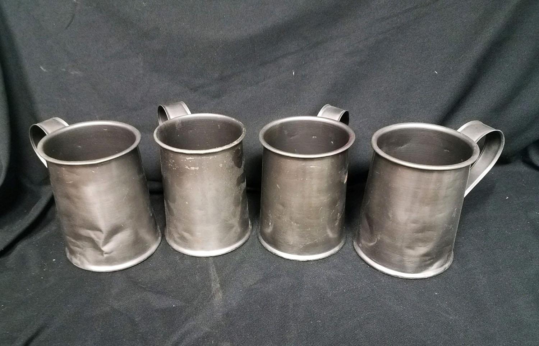 Pewter Mugs Tankards faux