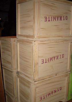 Mining Dynamite Boxes