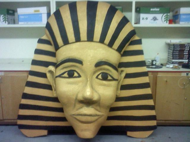 Pharaoh 7ft tall