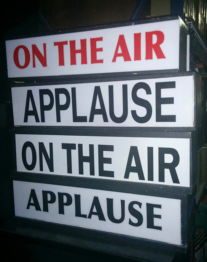 On the Air Sign / Applause Sign
