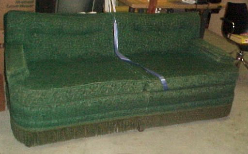 Sofa - Green 30's