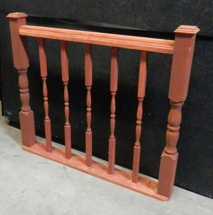 Court Railing 4ft